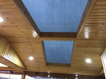 Dekoratif sunrooflu teras kapatma modelimiz
